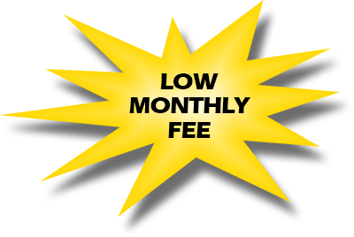 lowest monthly fee